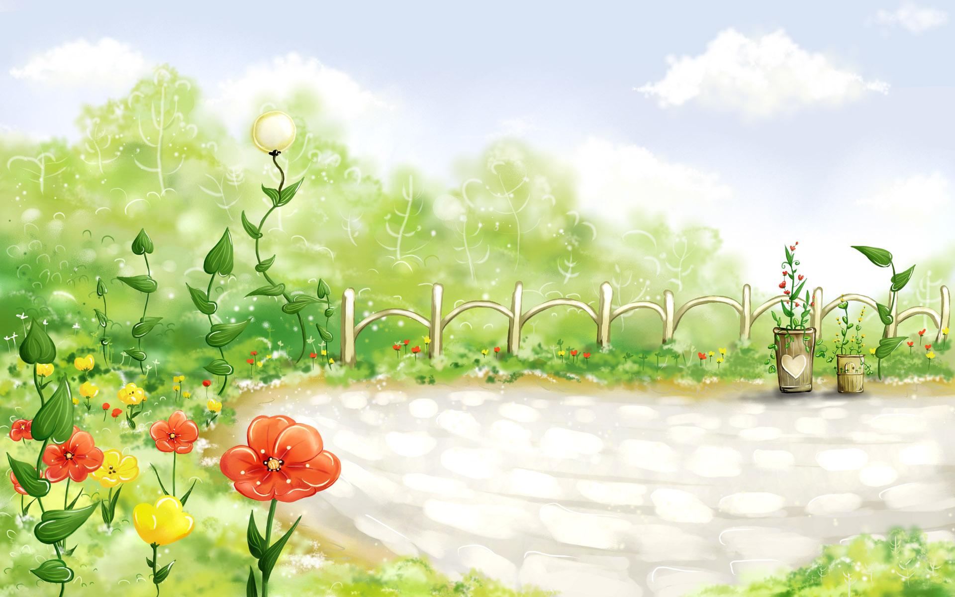 vector_spring_illustration_viewillustrator_2009
